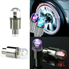 Car Truck Valve LED Light Waterproof Wheel Decor Shockproof Safety Flashing Lamp
