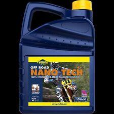 Putoline NANO TECH OFF ROAD 4+ 10W-60 interamente sintetico olio motore 4T