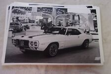 1969 PONTIAC FIREBIRD TRANS AM  AT AUTO RAMA DISPLAY 11 X 17  PHOTO  PICTURE