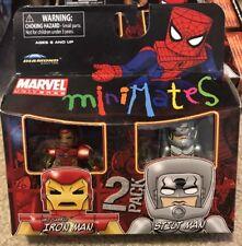 "MINIMATES Marvel 2010 IRON MAN & STILT MAN SEALED AWESOME""MINT CONDITION"""