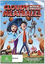 CLOUDY WITH A CHANCE OF MEATBALLS - BRAND NEW & SEALED DVD
