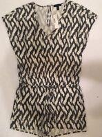 NWT JCREW Tie-waist romper in ikat SizeXS F2599 SOLDOUT