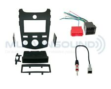 Radio Dash Kit Combo SD/DD MANUAL + Harness + Antenna + SWC Interface K14S