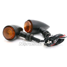 Motorcycle LED Turn Signals Light 12V  Indicator Stop Running Lamp For Harley