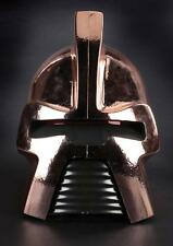 "Gold ""Cylon Centurion"" helmet from Battlestar Galactica. Lot 1065"