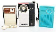 (3) Transistor Radios: Ge 1758/1143, Panasonic Rkf41, Lloyds Model 6K, Lot 488