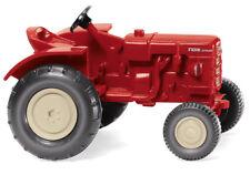 Wiking 087705-1/87 Viaje Tractor - Rojo