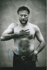Michael Nyqvist Autogramm signed 20x30 cm Bild s/w