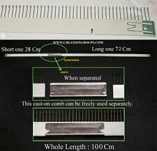 Cast-on Comb Set for 6mm Brother Empisal HK160 & Studio MK70 Knitting Machine