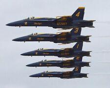 U.S. NAVY BLUE ANGELS AT MIRAMAR AIR SHOW 11x14 SILVER HALIDE PHOTO PRINT