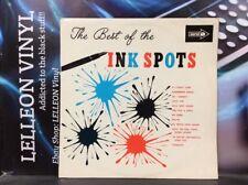 The Best Of The Inkspots LP Album Vinyl Record CP46 31B/41B Pop 60's Mono Coral