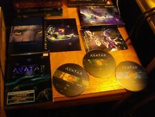 Avatar (Blu-ray Disc, 2010, 3-Disc Set, Canadian Extended Collectors Edition)