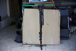 Manfrotto 561BHDV-1 Fluid Video Monopod and Head