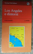 LOS ANGELES e dintorni carta stradale Touring Club Italiano 1:350000