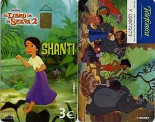 3 Euros. WALT DISNEY El Libro de la Selva. SHANTI.