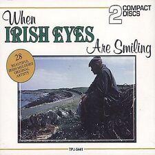Ireland When Irish Eyes Are Smiling: 28 Beautiful Irish Melodies 2 Disc CD