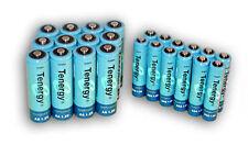 Combo: 24 pcs Tenergy NiMH Rechargeable Batteries (12AA/12 AAA)