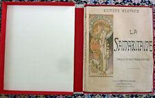 ALPHONSE MUCHA - ORIGINAL / VINTAGE - LA SAMARITAINE BOOK - 1897