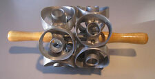 """1ea. 2"""" size two row mini donut cutter- cuts 14 cuts  - new from factory"""