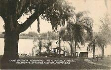 Florida, FL, Altamonte Springs, Lake Orienta Adjoining Altamonte Hotel  Postcard