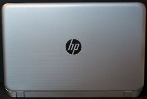 HP Pavilion Beats Laptop Computer FOR PARTS Cracked Screen missing hard drive