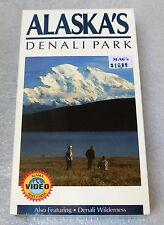 Alaska Denali National Park VHS 1999 Mt. McKinley Wilderness Educational Video