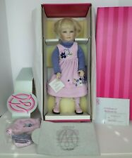 COA #627 NEW AND NEVER REMOVED FROM BOX MARIE OSMOND SHELBY PORCELAIN DOLL