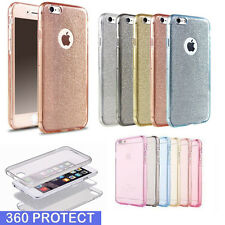 Ultra Thin Slim TPU Gel Skin Cover Case Shockproof fo Apple iPhone 7 7+ 6 Plus