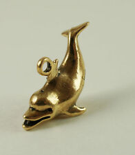 Tiny Solid Bronze Dolphine by N.Fedosov.