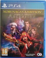 Nobunaga's Ambition Sphere of Influence Ascension. Ps4. Fisico. Pal Es