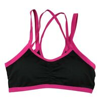Women Seamless Racerback Sports Bra Yoga Workout Stretch Fitness Padded Tank Top
