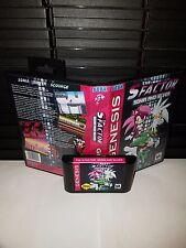The S Factor - Sonia and Silver - Plus Scourge Game for Sega Genesis! Cart & Box