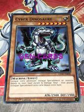 Carte Yu Gi Oh CYBER DINOSAURE LED-FRB08 x 3