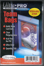 PACK OF 100 TEAM BAGS PRODUCED BY ULTRA PRO