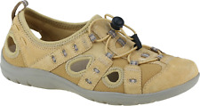 Earth Spirit Winona Amber Yellow Ladies Leather Casual Elasticated Walking Shoes