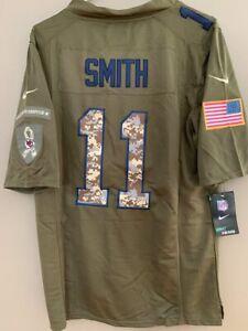 NWT Mens Alex Smith Kansas Chiefs Salute to Service Green Camo Small Nike Jersey