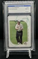 2001 SP Authentic Golf Jack Nicklaus card #41 IGS Graded *MINT 9*
