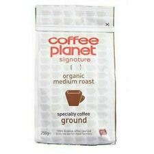Coffee Planet Organic Medium Roast Ground Coffee 250g