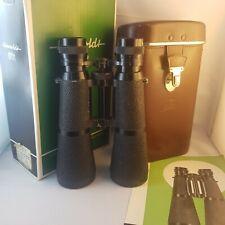 Hensoldt wetzlar Dialyt selten 7×50 Fernglas mit original leder Zeiss Tasche