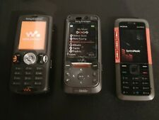 3 x Dummy Mobile Cell Phone Display Toy sony nokia