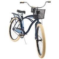 Huffy Cruiser Bike Men's 26 inch Single Speed Blue NEW