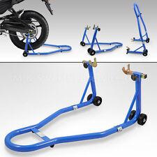 BITUXX® Motorradständer Hinterrad Motorrad Montageständer Transportständer blau