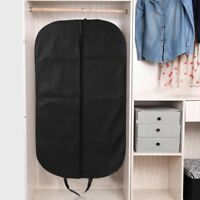 "Breathable Black Suit Cover Garment Clothes Travel Protector Bag 40"" Hanger SY"