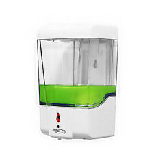 700ml Automatic Touchless Soap Dispenser Wall-Mounted IR Sensor Kitchen Bathroom