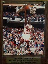 Michael Jordan Plaque Chicago Bulls 1991