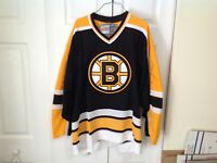Boston Bruins Factory Sealed NWT 96-06 Version Black Vintage CCM Size XL Jersey