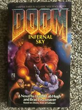 Dafydd Ab Hugh Brad Linaweaver DOOM #3 Infernal Sky 1st 1996 Great Cover Art