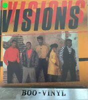 Visions  – S/T Visions   (Vinyl LP) Soul Record Ex+ Con