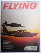 Comanche B Flying Magazine Dec 1966 Turbo Porter Brantly 305 B2B B17 flying fort