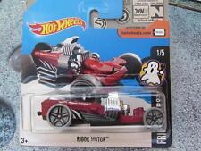 Hot Wheels 2017 #157/365 RIGOR MOTOR red Fright Cars